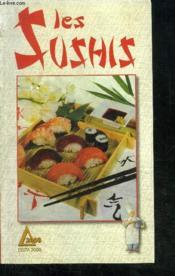Les sushis - Couverture - Format classique