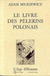 Le Livre Des Pelerins Polonais - Couverture - Format classique