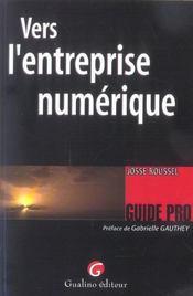 Vers l'entreprise numerique - Intérieur - Format classique