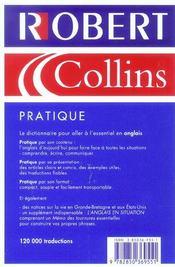 Pratique Anglais - 4ème de couverture - Format classique