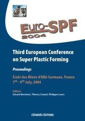 Suro-SPF 2004 ; third european conference on super plastic forming - Intérieur - Format classique