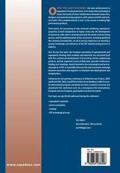 Suro-SPF 2004 ; third european conference on super plastic forming - 4ème de couverture - Format classique