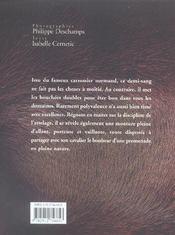 Le cob normand - 4ème de couverture - Format classique