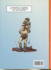 Cafougnette t.3 - 4ème de couverture - Format classique