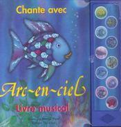Chante avec arc-en-ciel livre musical - Intérieur - Format classique
