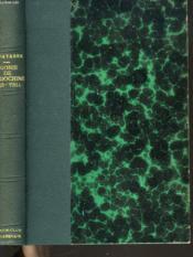 Agonie De L'Indochine (1953-1954) - Couverture - Format classique