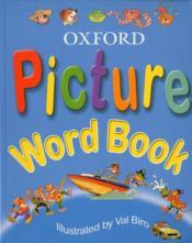 Picture word book - Couverture - Format classique
