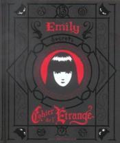 Emily, le cahier de l'étrange - Couverture - Format classique
