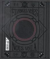 Emily, le cahier de l'étrange - 4ème de couverture - Format classique