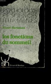 Les Fonctions Du Sommeil. - Couverture - Format classique
