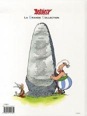 Astérix T.1 ; Astérix le gaulois - 4ème de couverture - Format classique