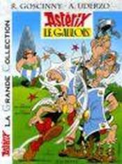 Astérix T.1 ; Astérix le gaulois - Couverture - Format classique