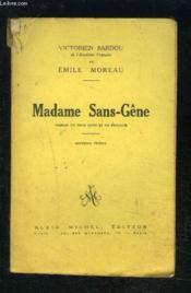 Madame Sans Gene- Comedie En Trois Actes Et Un Prologue - Couverture - Format classique