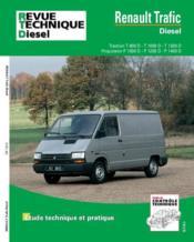 Rta 122.6 Renault Trafic Diesel 81-98 - Couverture - Format classique