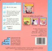 Le Mouton - 4ème de couverture - Format classique