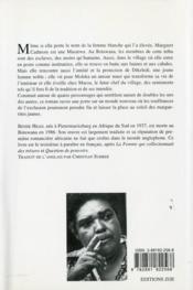 Marou - 4ème de couverture - Format classique