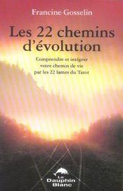 22 chemins d'evolution par les 22 lames - Intérieur - Format classique