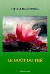 Gout du the - Couverture - Format classique