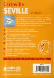 Séville - 4ème de couverture - Format classique
