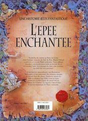 L'Epee Enchantee - 4ème de couverture - Format classique