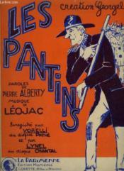 Les Pantins Ou Qui Veut Des Patins ? - Piano Et Chant. - Couverture - Format classique