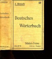 Deutsches Worterbuch. - Couverture - Format classique
