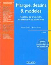 Marque Dessins Et Modeles ; 1e Edition - Intérieur - Format classique