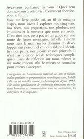 Trouver Son Propre Chemin - 4ème de couverture - Format classique