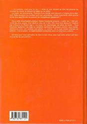 Encyclopedie Des Prenoms - 4ème de couverture - Format classique