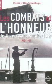 Les combats et l'honneur des forces navales libres 1940-1944 - Intérieur - Format classique