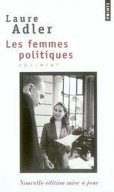 Les femmes politiques - Couverture - Format classique