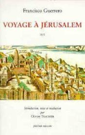 Voyage A Jerusalem - Couverture - Format classique