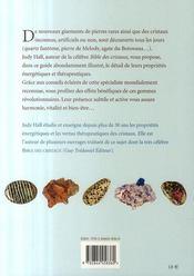 Nouveaux cristaux et pierres thérapeutiques - 4ème de couverture - Format classique