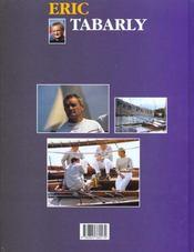 Tabarly - 4ème de couverture - Format classique
