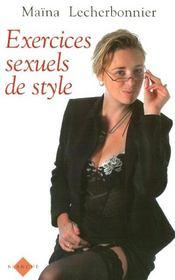 Exercices sexuels de style - Intérieur - Format classique