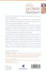 Croix Et Le Croissant (La) - 4ème de couverture - Format classique