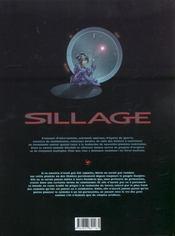 Sillage t.6 ; artifices - 4ème de couverture - Format classique