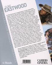 Clint Eastwood - 4ème de couverture - Format classique
