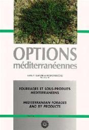 Fourrages et sousproduits mediterraneens ; serie a 16 - Couverture - Format classique