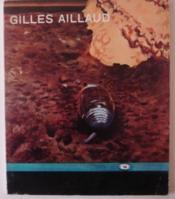 GILLES AILLAUD. Catalogue exposition ARC 1971 - Couverture - Format classique