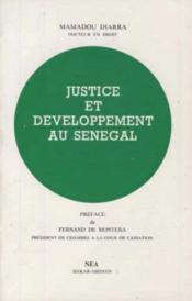 Justice et developpement au sénégal - Couverture - Format classique