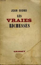 Les Vraies Richesses. - Couverture - Format classique