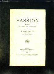 La Passion . - Couverture - Format classique