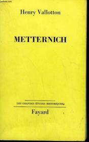 Metternich. - Couverture - Format classique