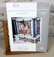 Exeptionnel ensemble de 120 meubles de maitrise et diminutifs des XVIII° et XIX° siècles appartenant à deux grands collectionneurs Madame M..., Monsieur F... - Couverture - Format classique