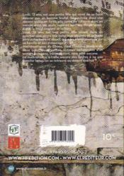 Mathématiques du chaos - 4ème de couverture - Format classique