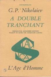 A double tranchant - Couverture - Format classique