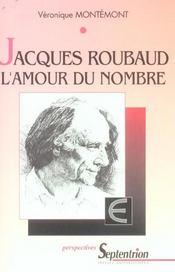 Jacques roubaud l'amour du nombre - Intérieur - Format classique