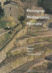 Montagnes. mediterranee. memoire. - Couverture - Format classique