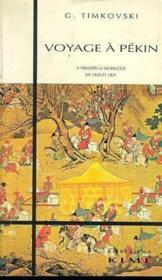 Voyage à Pékin - Couverture - Format classique